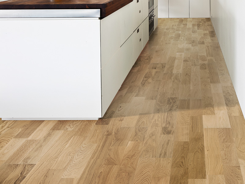 Kährs 2-strip wood flooring