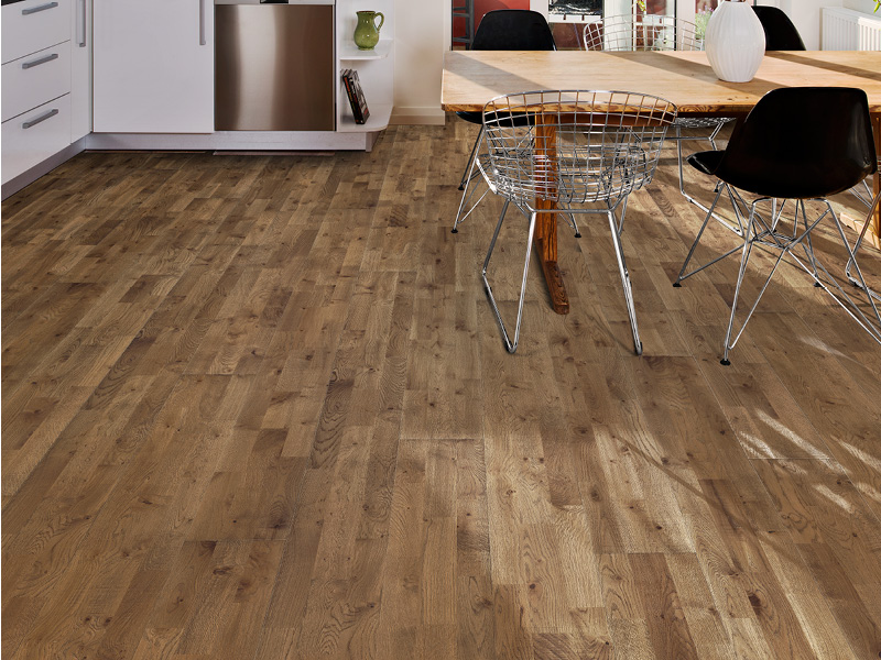 Kährs 3-strip wood flooring