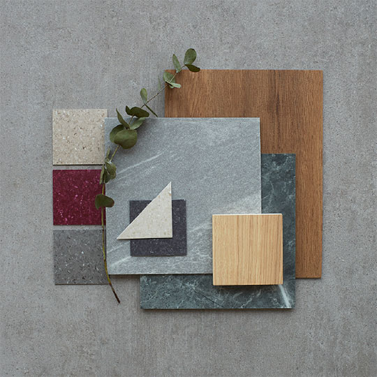 Kährs flooring samples