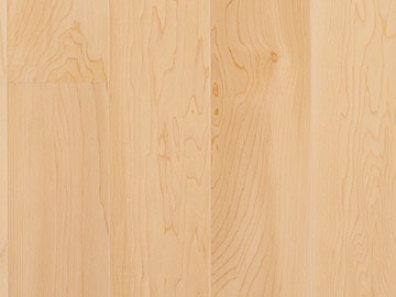 Hard maple wood flooring
